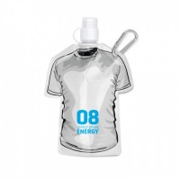 8663m-06 Bidon płaski w kształcie T-shirt pojemność 480ml