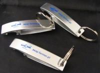 8664m-14 Aluminiowy brelok otwieracz