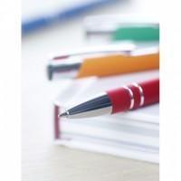 8857m-10 Długopis z gumowym wykończenie