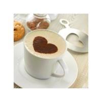 8921m-16 Szablon do kawy - serce