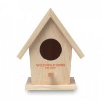 9011m-13 Drewniany domek dla ptaków
