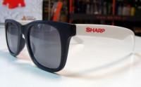 9033m-06 Okulary przeciwsłoneczne dwukolorowe