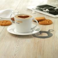 9080m-06 Filiżanka cappuccino z talerzykiem 180ml