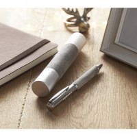 9123m-07 Metalowy długopis w tubie