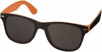 10050004f Okulary przeciwsłoneczne Sun Ray – czarne z kolorowymi wstawkami