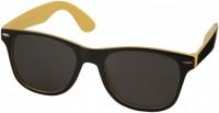 10050005 Okulary przeciwsłoneczne Sun Ray – czarne z kolorowymi wstawkami