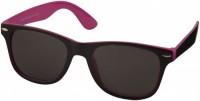 10050006 Okulary przeciwsłoneczne Sun Ray – czarne z kolorowymi wstawkami