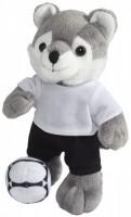10223200f Pluszowy wilk Dribble w koszulce