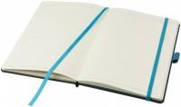 10708100f Notes 80 kartek linia/gładkie z uchwytem na długopis