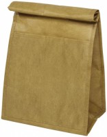 12036000f Brązowa torba termoizolacyjna z fakturą torby papierowej