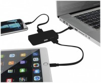 13426800f Hub USB Grid z dwoma kablami