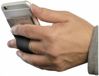 13427000f Silikonowe etui mocowane do telefonu ze szczeliną na palec