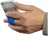 13427001f Silikonowe etui mocowane do telefonu ze szczeliną na palec