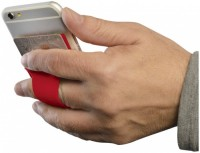 13427003 Silikonowe etui mocowane do telefonu ze szczeliną na palec