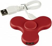 13428203 Spin-it Widget USB Hub-RD
