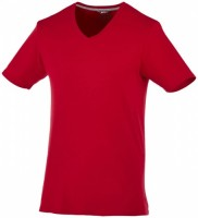 33021281f Męski T-shirt Bosey z krótkim rękawem z dekoltem w serek S Male