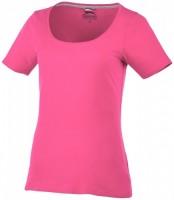33022211f Damski T-shirt Bosey z krótkim rękawem i dekoltem S Female