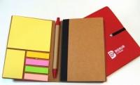 9213m-05 Notes z recyklingu długopis i karteczki samoprzylepne