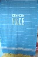 9221m-12 Ręcznik plażowy z frędzlami