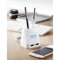 9317m-06 Hub USB-pojemnik na długopisy