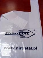 PLF KOSZULKA 30x18x55 LDPE >50µm Reklamówka KOSZULKA 39x55cm LDPE 51-55 mikronów