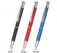 TU ZD1 czarne TOP USB długopis w czarnym etui