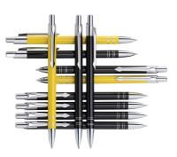 B ZD1 czarne BOND długopis metalowy w czarnym etui