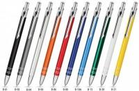 B ZD1 srebrne BOND długopis metalowy w srebrnym etui
