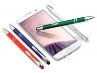 CT ZD1 srebrne COSMO Touch Pen długopis w srebrnym etui