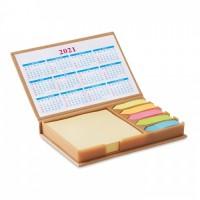 9394m-13 Zestaw karteczek z kalendarzem