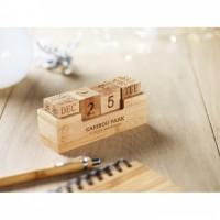 9404m-40 Kalendarz bambusowy