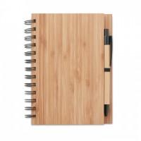 9435m-40 Notatnik bambusowy