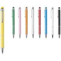 10714205f Aluminiowy długopis z przeszkleniem