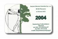 Karta biznesowa - lakierowana jednostronnie Karta biznesowa - lakierowana jednostronnie