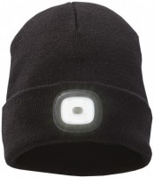 38661990f Mighty LED knit beanie, Black Unisex