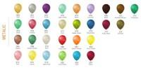 """balon-12 M Balony z nadrukiem 12"""" metalizowany"""
