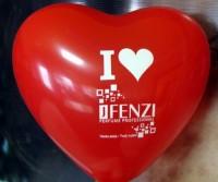 """balon-serce Balony z nadrukiem w kształcie serca 14"""""""