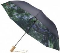 """10913300f Dwustronny parasol automatyczny z motywem lasu i nieba 23"""""""