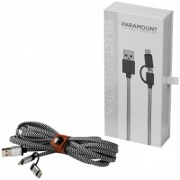 12396300f Paramount fabric cable - BK
