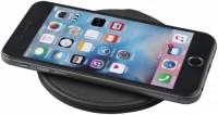 12398400f PU Wireless Charging Pad-BK