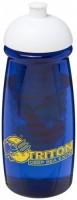 21005700f Bidon H2O Pulse® o pojemności 600 ml z wypukłym wieczkiem z możliwościąprzyrządzania wody smakowej
