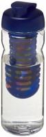 21005901f Bidon Base Tritan™ o pojemności 650 ml z wieczkiem zaciskowym z możliwością przyrządzania wody smakowej