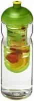 21006103f Bidon Base Tritan™ o pojemności 650 ml z wypukłym wieczkiem z możliwością przyrządzania wody smakowej