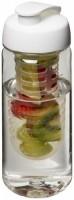 21006400f Bidon Octave Tritan™ o pojemności 600 ml z wieczkiem zaciskowym z możliwością przyrządzania wody smakowej