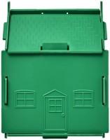 21011101f Skarbonka w kształcie domu Unit wykonana z tworzywa sztucznego