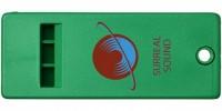 21013101f Płaski gwizdek z dużą powierzchnią na logo Wanda