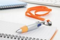 111676c-03 Plastikowy długopis z 4 wkładami