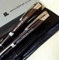 C OD Z5 2el Zestaw Cosmo długopis i ołówek w etui z ekoskóry
