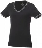 38027991f Damski t-shirt pique Elbert S Female