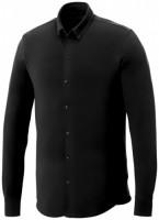 38176991f Męska koszula z długim rękawem o splocie pique Bigelow S Male